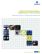 Zurich Multinational Insurance Application