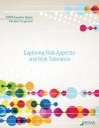 Exploring Risk Appetite and Risk Tolerance